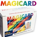 Picture of Turbo/Turbo Flip white ribbon/dye film - 1000 print. Magicard UR10W M9005-819
