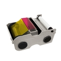 Picture of Fargo DTC1000/DTC1250e 4-color ribbon/dye film (YMCKO) - 250 print. Fargo 45000